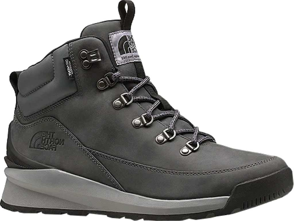 Men's The North Face Back-to-Berkely Mid WP Hiking Boot, Zinc Grey/TNF Black, large, image 1