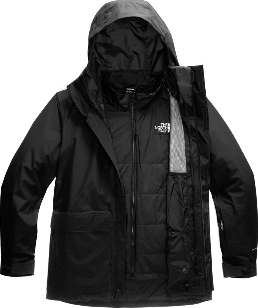 Men's The North Face Clement Triclimate Jacket, TNF Black, large, image 1