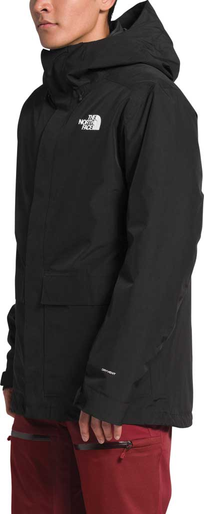 Men's The North Face Clement Triclimate Jacket, TNF Black, large, image 3