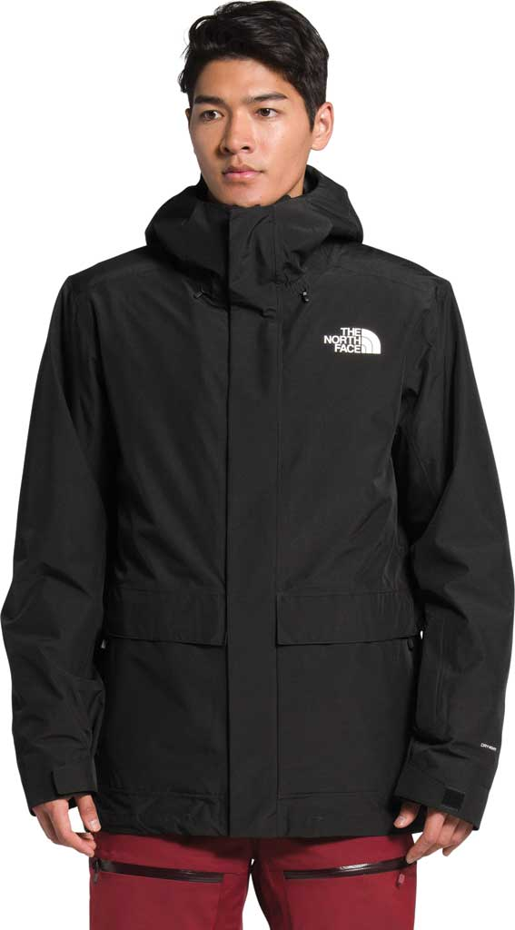 Men's The North Face Clement Triclimate Jacket, TNF Black, large, image 4