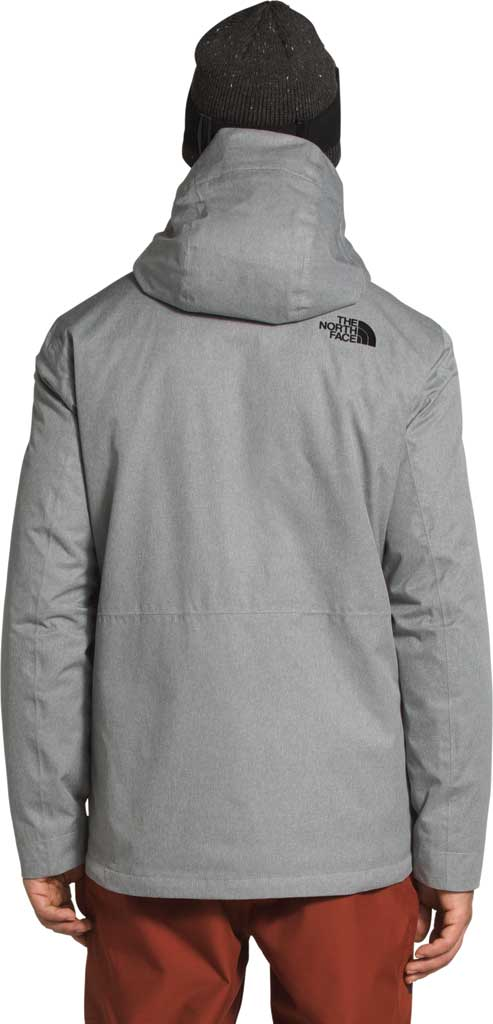 Men's The North Face Clement Triclimate Jacket, TNF Medium Grey Heather, large, image 2