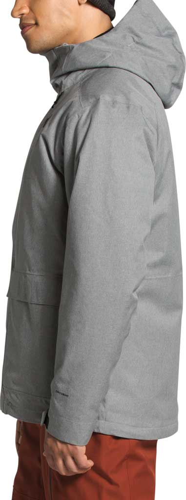 Men's The North Face Clement Triclimate Jacket, TNF Medium Grey Heather, large, image 3
