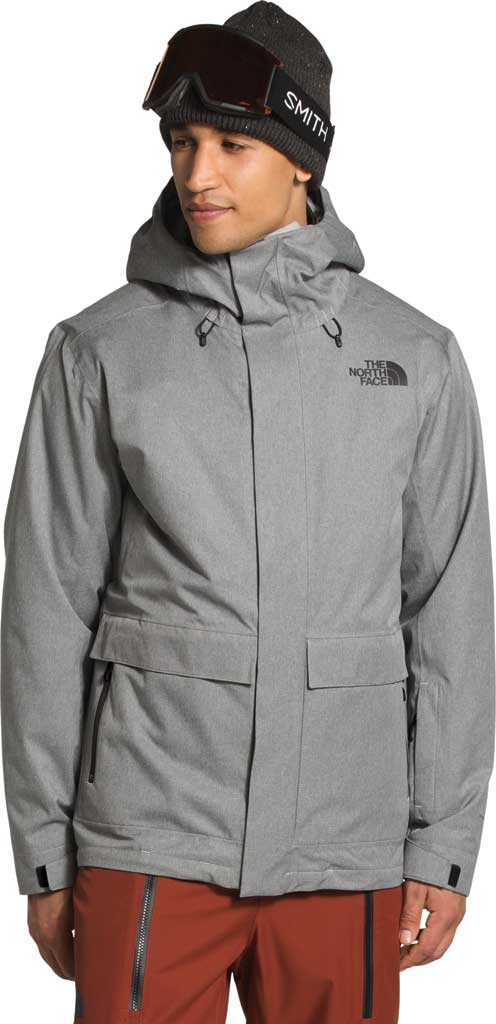 Men's The North Face Clement Triclimate Jacket, TNF Medium Grey Heather, large, image 4