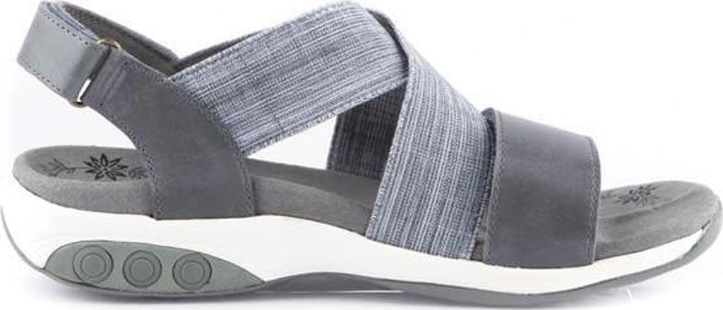 Women's Therafit Jessica Slingback Sandal, Blue Fabric/Leather, large, image 2