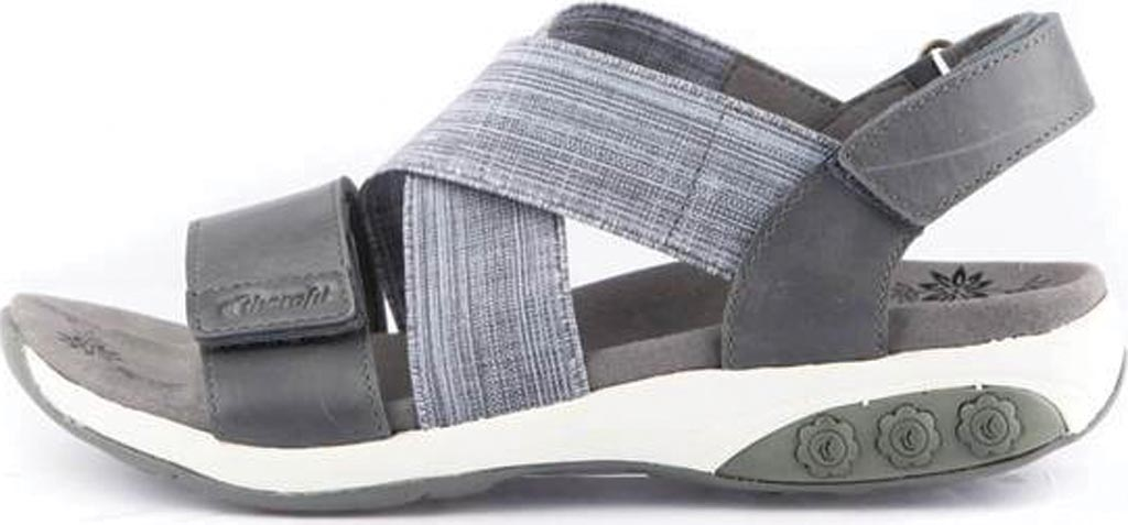 Women's Therafit Jessica Slingback Sandal, Blue Fabric/Leather, large, image 3