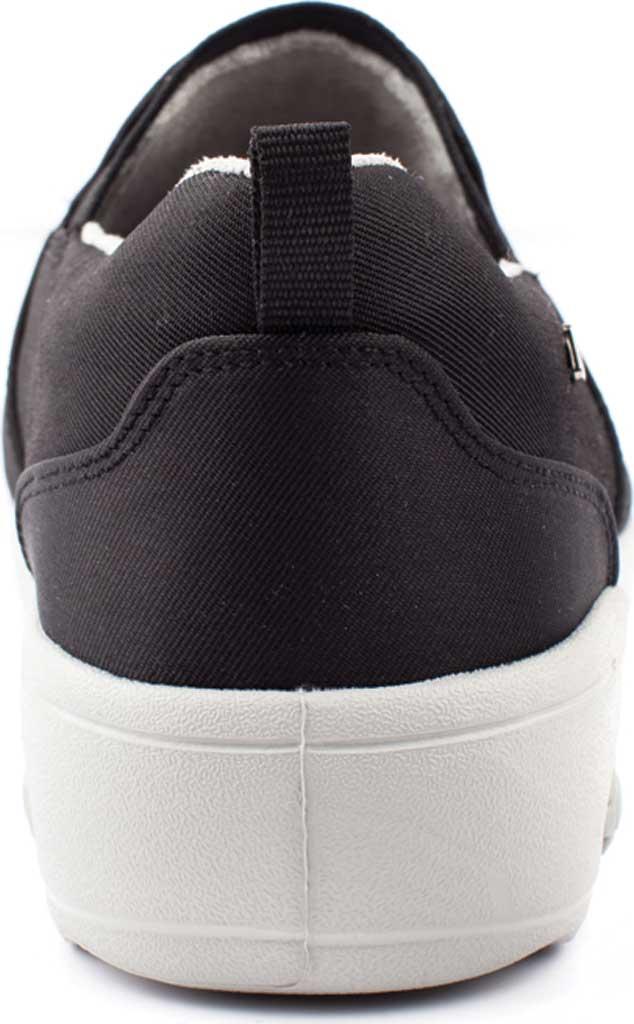 Women's Therafit Selena Lite Slip On Shoe, Black Fabric, large, image 4