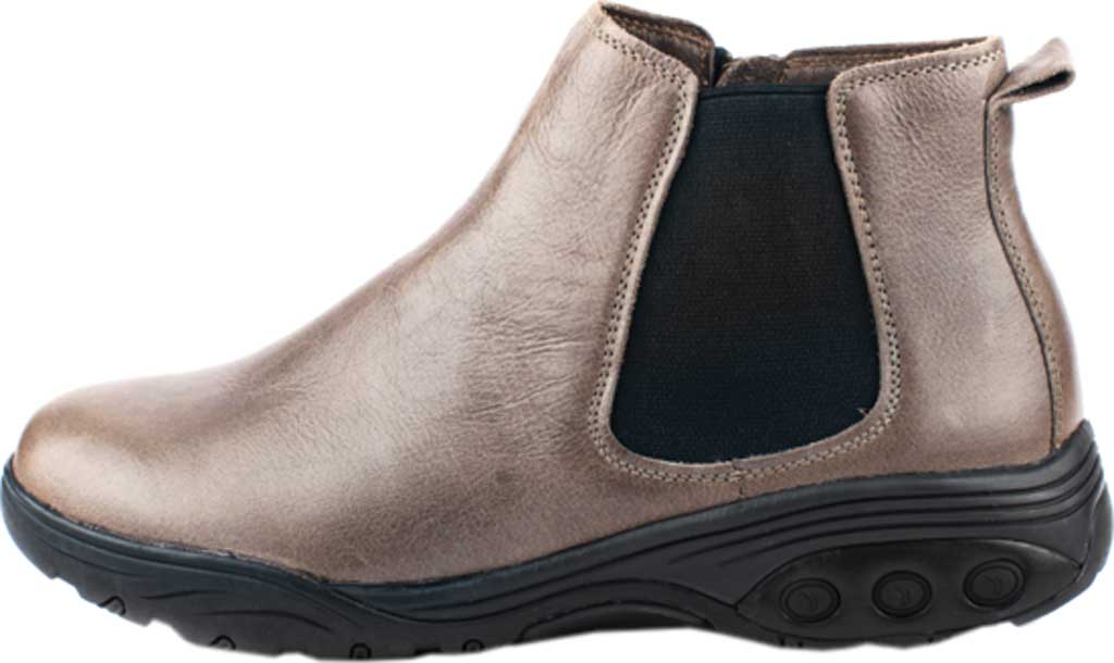Women's Therafit Paige Bootie, Taupe Full Grain Leather, large, image 3