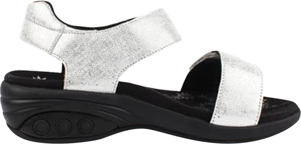 Women's Therafit Melody Comfort Sandal, White Leather, large, image 2