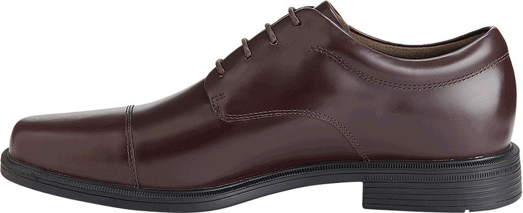 Men's Rockport Ellingwood Waterproof, Oxblood Full Grain Leather, large, image 3