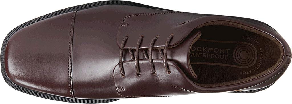 Men's Rockport Ellingwood Waterproof, Oxblood Full Grain Leather, large, image 4