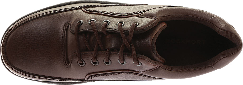 Men's Rockport World Tour Eureka, Brown Full Grain Leather, large, image 5