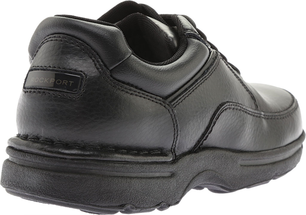 Men's Rockport World Tour Eureka, Black Full Grain Leather, large, image 4