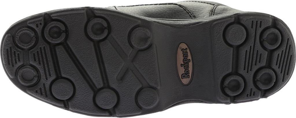 Men's Rockport World Tour Eureka, Black Full Grain Leather, large, image 6