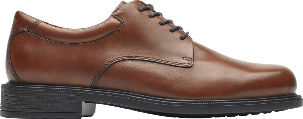 Men's Rockport Margin Oxford, New Brown Leather, large, image 2