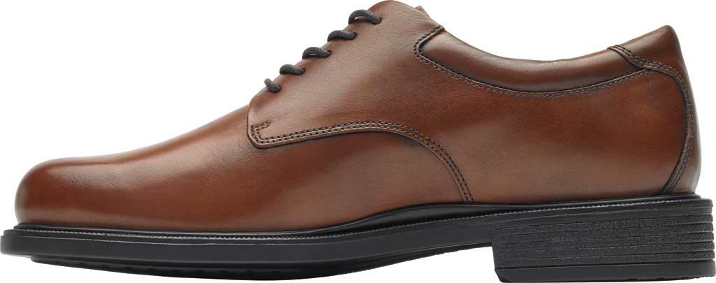 Men's Rockport Margin Oxford, New Brown Leather, large, image 3