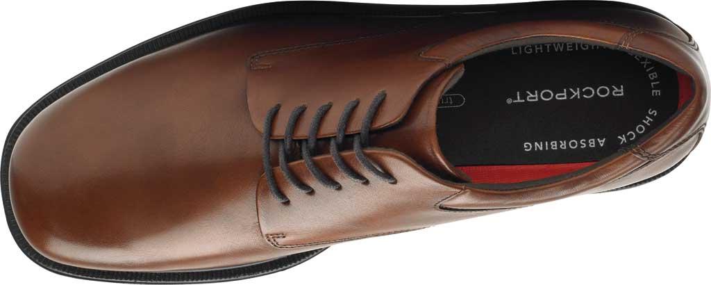 Men's Rockport Margin Oxford, New Brown Leather, large, image 4