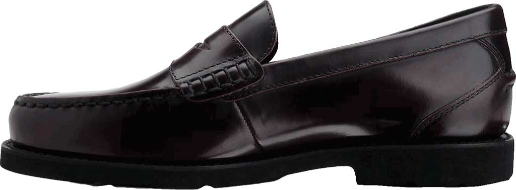 Men's Rockport Shakespeare Circle Loafer, Burgundy Brush Off Leather, large, image 3
