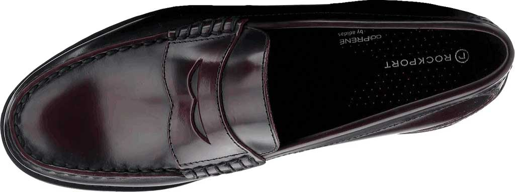 Men's Rockport Shakespeare Circle Loafer, Burgundy Brush Off Leather, large, image 4