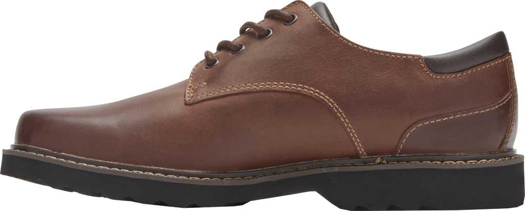 Men's Rockport Northfield Oxford, Dark Tan Leather, large, image 3