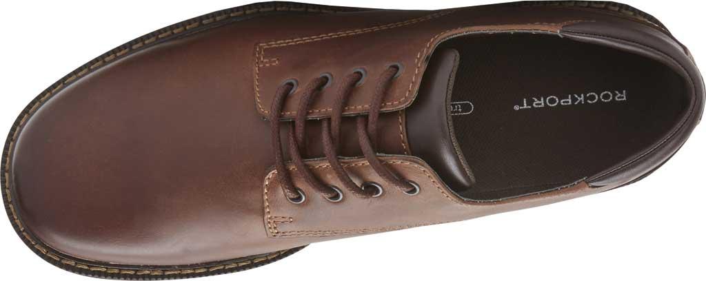 Men's Rockport Northfield Oxford, Dark Tan Leather, large, image 4