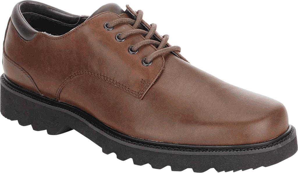 Men's Rockport Northfield Oxford, Dark Brown, large, image 1