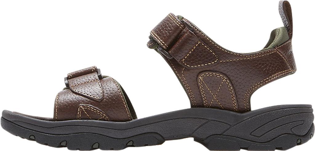 Men's Rockport Rocklake, Brown/Brown Leather, large, image 3