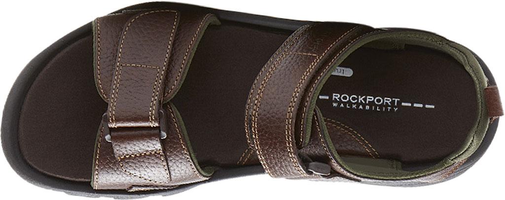 Men's Rockport Rocklake, Brown/Brown Leather, large, image 4