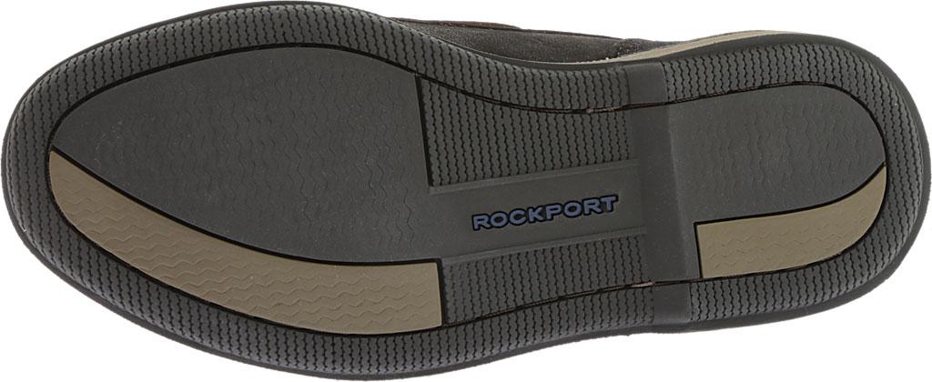 Men's Rockport Perth Boat Shoe, Black/Bark Leather, large, image 6