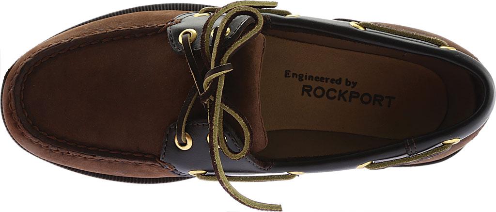 Men's Rockport Perth Boat Shoe, Chocolate/Bark Nubuck, large, image 5