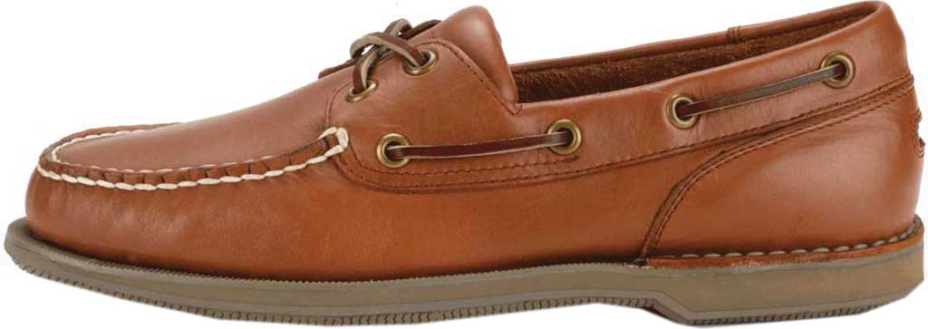Men's Rockport Perth Boat Shoe, Timber w/ Honey Sole, large, image 3