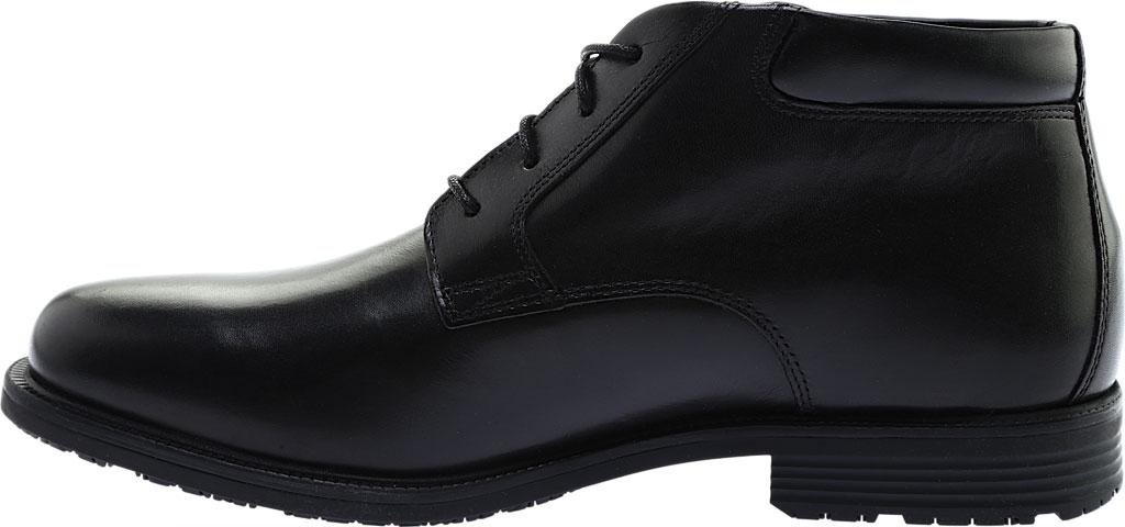 Men's Rockport Essential Details Waterproof Chukka Boot, Black Full Grain Leather, large, image 3