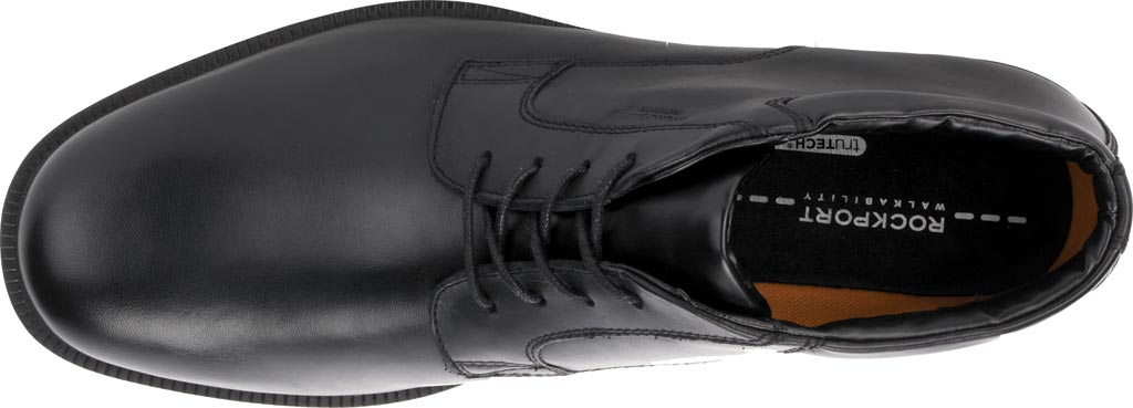 Men's Rockport Essential Details Waterproof Chukka Boot, Black Full Grain Leather, large, image 5