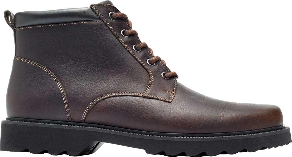 Men's Rockport Northfield Plain Toe Boot, Chocolate Full Grain Leather, large, image 2