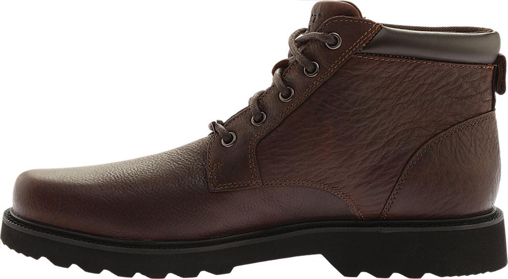 Men's Rockport Northfield Plain Toe Boot, Chocolate Full Grain Leather, large, image 3