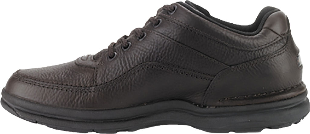 Men's Rockport World Tour Classic Walking Shoe, Chocolate Chip, large, image 3