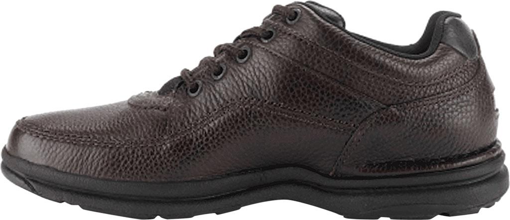 Men's Rockport World Tour Classic Walking Shoe, Brown Tumbled, large, image 2