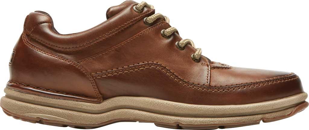 Men's Rockport World Tour Classic Walking Shoe, Brown Leather, large, image 2