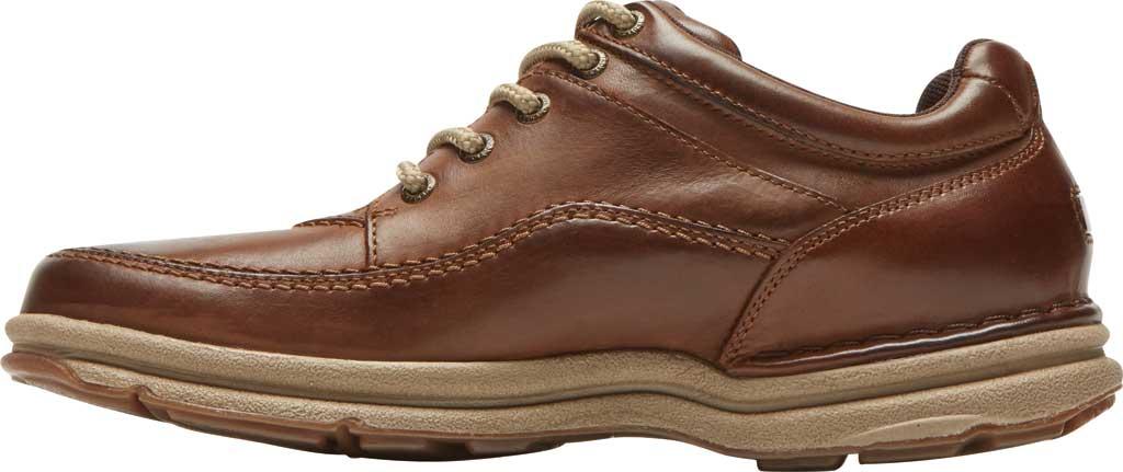 Men's Rockport World Tour Classic Walking Shoe, Brown Leather, large, image 3