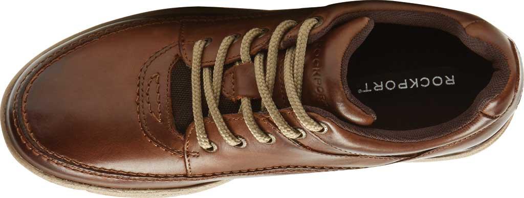 Men's Rockport World Tour Classic Walking Shoe, Brown Leather, large, image 4