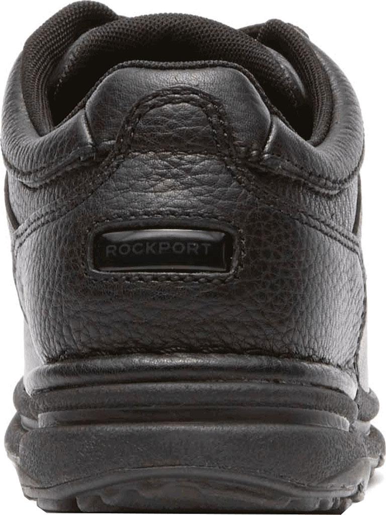 Men's Rockport World Tour Classic Walking Shoe, Black Tumbled, large, image 4