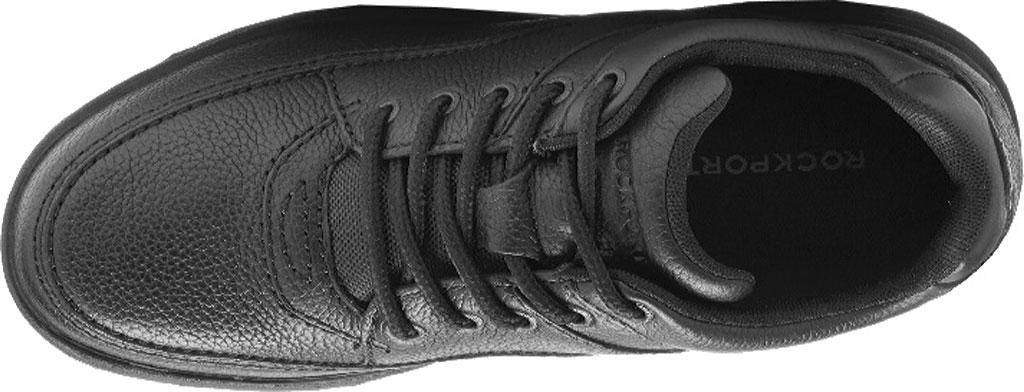 Men's Rockport World Tour Classic Walking Shoe, Black Tumbled, large, image 5