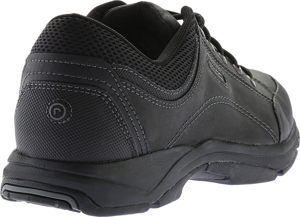 Men's Rockport Chranson, Black Leather, large, image 4