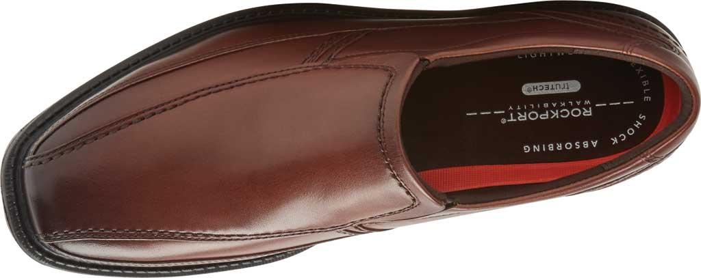 Men's Rockport Style Leader 2 Bike Slip On, Cognac Gradient Leather, large, image 4