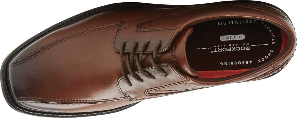 Men's Rockport Style Leader 2 Bike Toe Oxford, Cognac Gradient Leather, large, image 4
