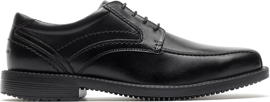 Men's Rockport Style Leader 2 Bike Toe Oxford, Black Leather, large, image 2