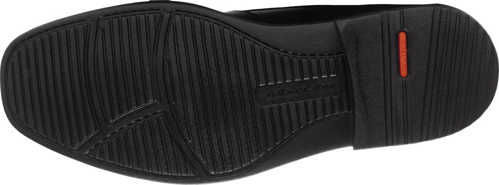 Men's Rockport Style Leader 2 Moc Toe Slip On, Black Leather, large, image 5
