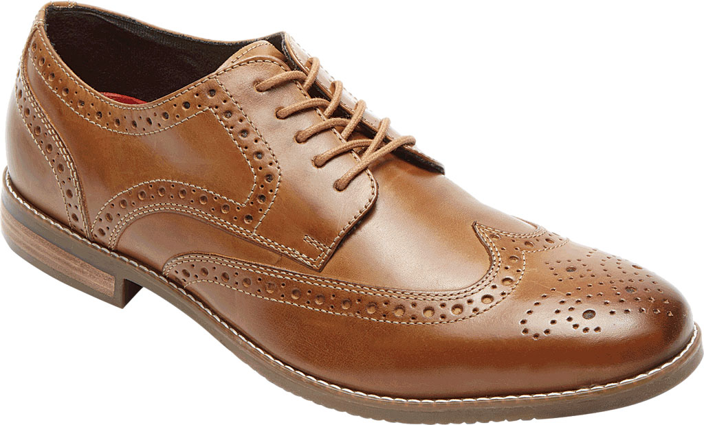 Men's Rockport Style Purpose Wing Tip Oxford, , large, image 1
