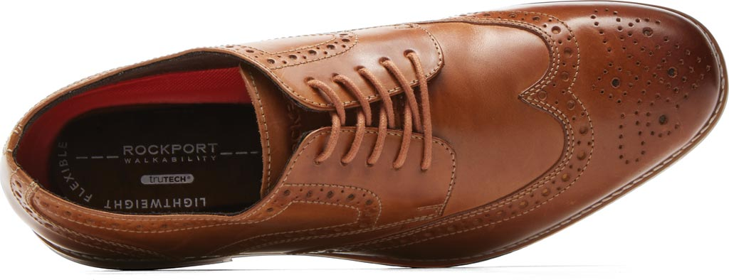 Men's Rockport Style Purpose Wing Tip Oxford, , large, image 4