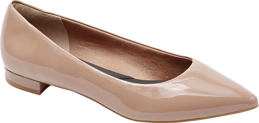Rockport Womens Total Motion Adelyn Ankle Ballet Flat