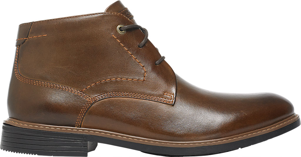 Men's Rockport Classic Break Chukka Boot, Dark Brown Leather, large, image 2